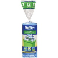 Ruffies Blue 13 gallon Recycling Bags