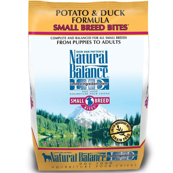Natural Balance Potato & Duck Formula Small Breed Bites Dog Food