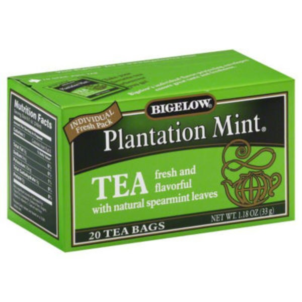 Bigelow Plantation Mint Black Tea