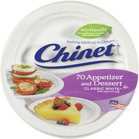 Classic White Round Appetizer & Dessert Plates