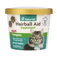 NaturVet Hairball Aid Supplement