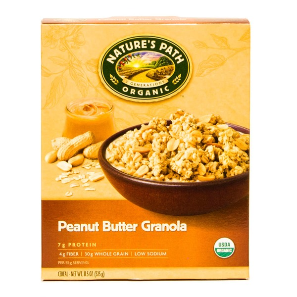 Nature's Path Organic Cereal Peanut Butter Granola