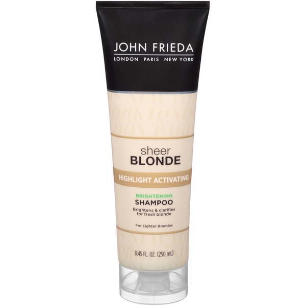 John Frieda Sheer Blonde Highlight Activating Brightening Shampoo