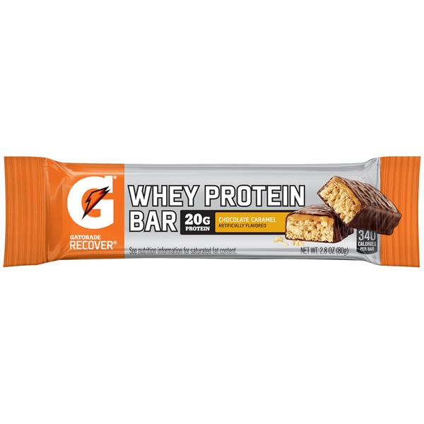 Gatorade Chocolate Caramel  Whey Protein Bar