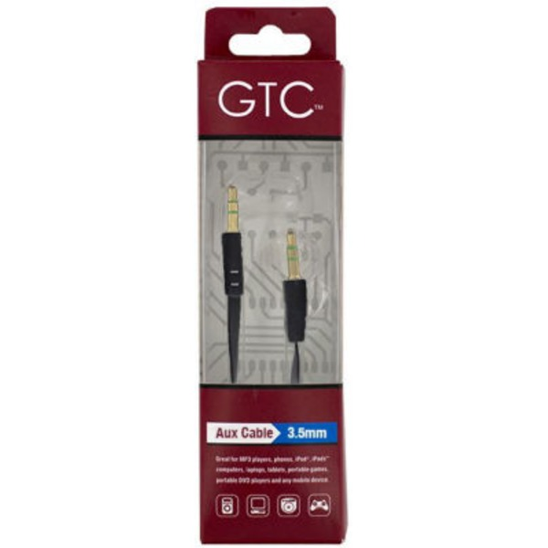 GTC 3.5mm Auxiliary Cable