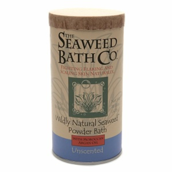 The Seaweed Bath Co. Powder Bath With Argan Oil & Kukui Oil Unscented
