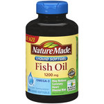 Nature Made Fish Oil Liquid Softgels Value Size