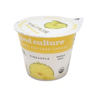 Good Culture Organic Pineapple Cottage Cheese