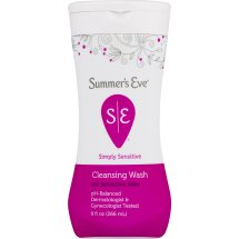 Summer's Eve Simply Sensitive Cleansing Wash, 9.0 Fl Oz