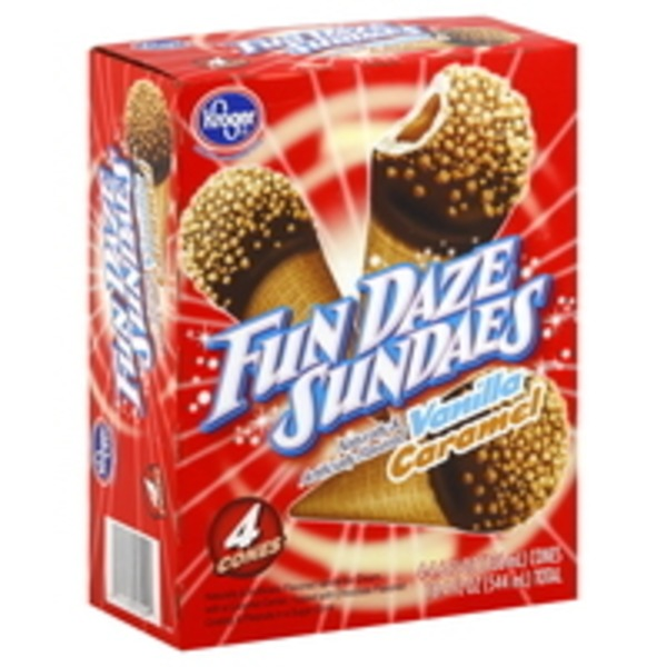 Kroger Fun Daze Sundaes Variety Pack