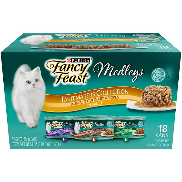 Fancy Feast Medleys TasteMakers Collection Cat Food