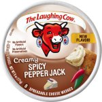 Laughing Cow Crmy Pepper Jack 8P 6Oz
