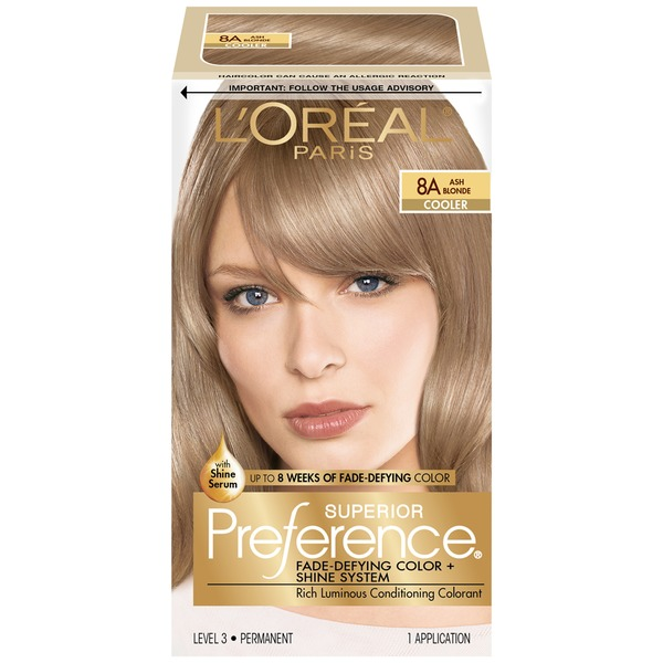Superior Preference 8a Cooler Ash Blonde Hair Color