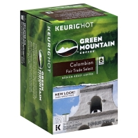 Green Mountain Coffee K-Cup Pods Medium Roast Colombian Fair Trade Select - 12