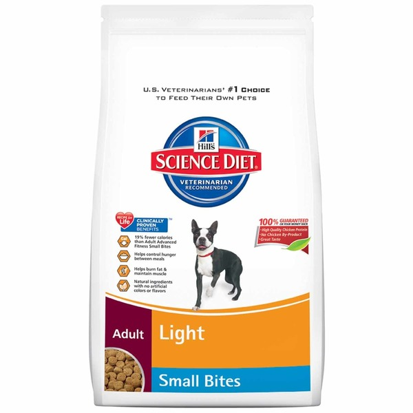 Hill's Science Diet Dog Food, Dry, Adult (1-6 Years), Light