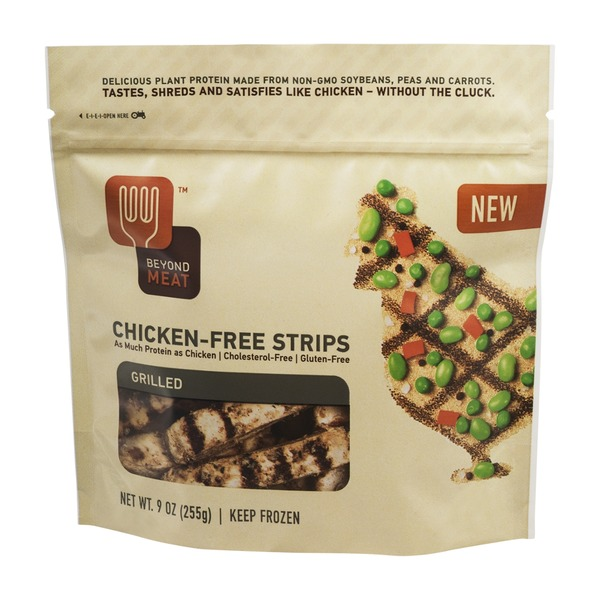 Beyond Meat Chicken-Free Strips Grilled