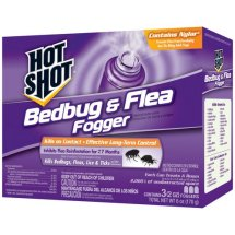 Hot Shot Fogger Bedbug & Flea Insecticide, 2 oz, 3 ct