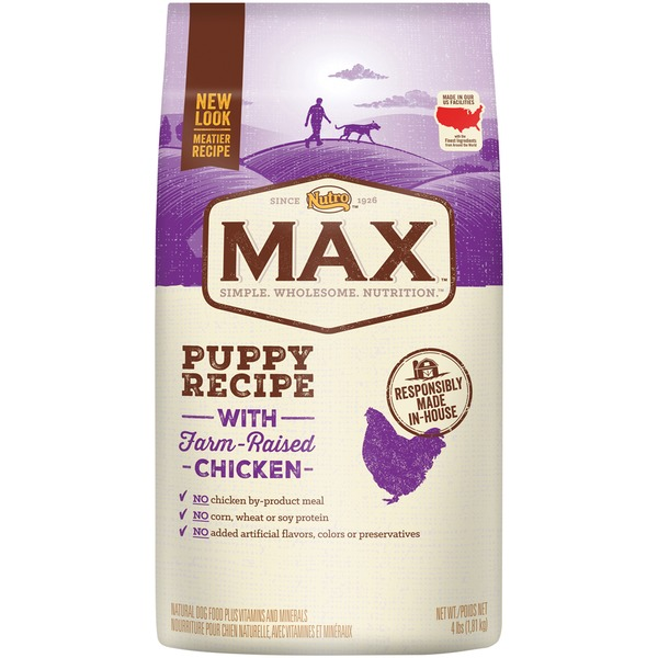 Nutro Max Puppy Recipe with Farm-Raised Chicken Dog Food