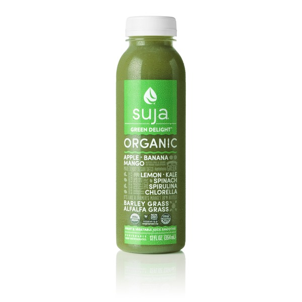 Suja Organic Fruit & Vegetable Juice Smoothie Green Delight