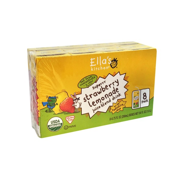 Ella's Kitchen Ella's Kitchen Aloe Water - Strawberry Lemonade