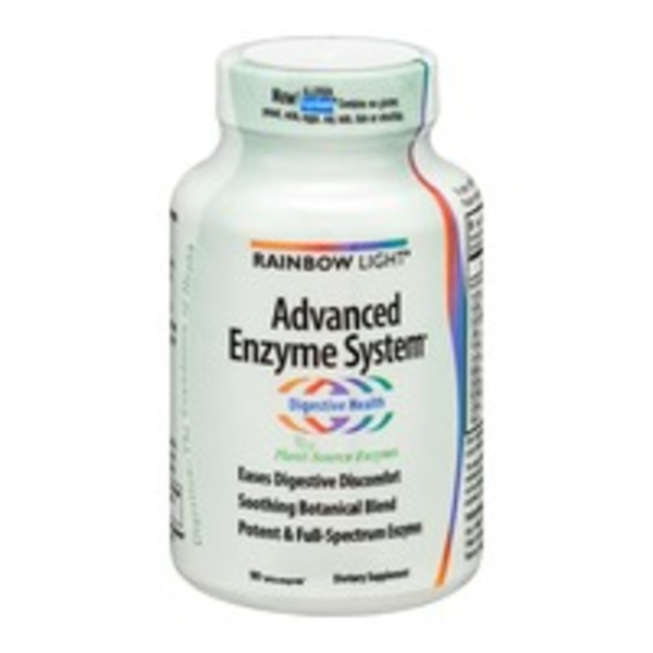 Rainbow Light Advanced Enzyme System Vcaps - 90 CT