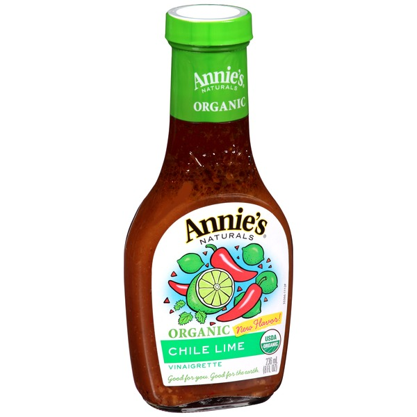 Annie's Homegrown Organic Chile Lime Vinaigrette Dressing Organic
