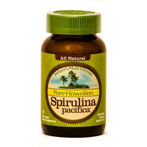 Pure Hawaiian Spirulina Pacifica Tablets