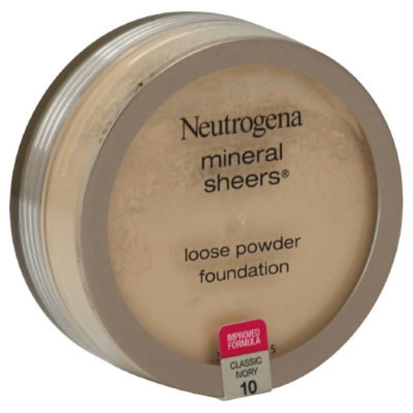 Neutrogena® Mineral Sheers Loose Powder Classic Ivory Mineral Sheers®