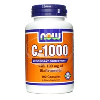 Now Vitamin C-1000 with 100 mg of Bioflavonoids Capsules