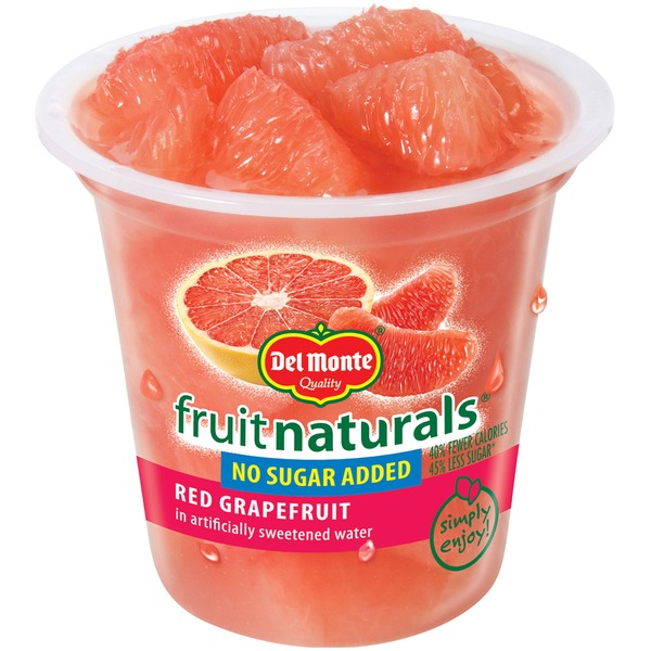 Fruit Naturals in Artificially Sweetened Water Red Grapefruit