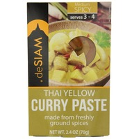 De Siam Thai Yellow Curry Paste