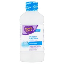 Parent's Choice Unflavored Pediatric Electrolyte Drink, 1 L