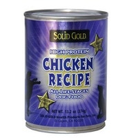 Solid Gold High Protein Chicken Recipe Grain-Free Canned Dog Food