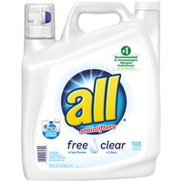 All With Stainlifters Free Clear 108 Loads Laundry Detergent