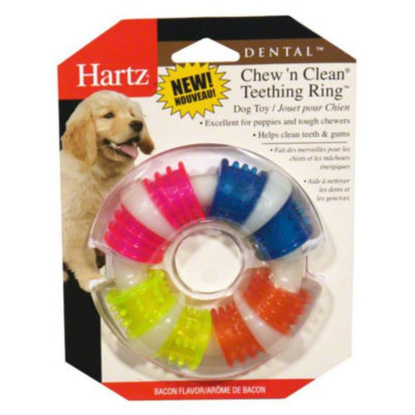 Hartz Chew'n Clean Durable Chew Toy Bacon Flavor