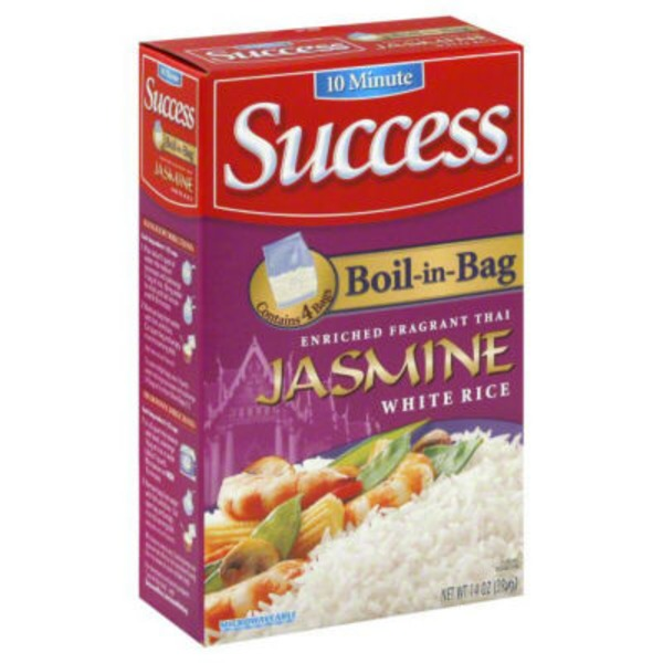 Success Boil-In-Bag Jasmine 4 Ct Rice