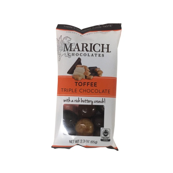 Marich Premium Chocolates Natural Triple Chocolate Toffee