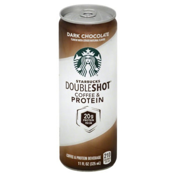 Starbucks Dark Chocolate Doubleshot Coffee & Protein Coffee Substitutes