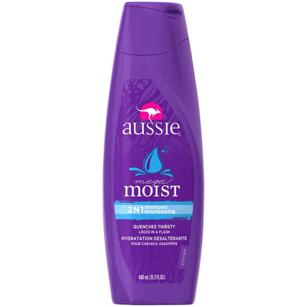 Aussie Moist Aussie Mega Moist Shampoo 13.5 fl oz Female Hair Care