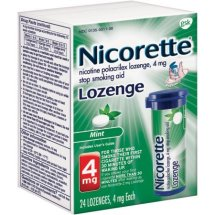 Nicorette® 4mg Mint Lozenge 24 ct PopPac® Containers