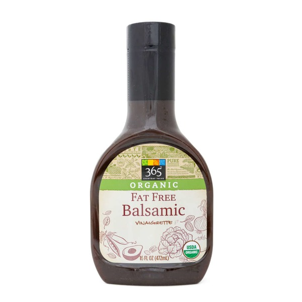 365 Organic Fat Free Balsamic Vinaigrette