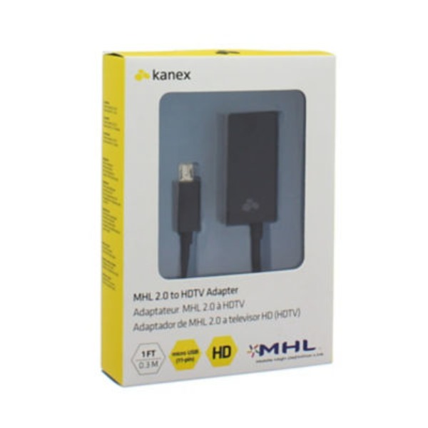 Kanex MHL 2.0 To HDTV 11 Pin Micro Usb To HDMI Adapter