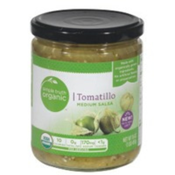 Simple Truth Tomatillo Medium Salsa