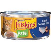Purina Friskies Classic Pate Classic Seafood Entree Cat Food 5.5 oz. Can