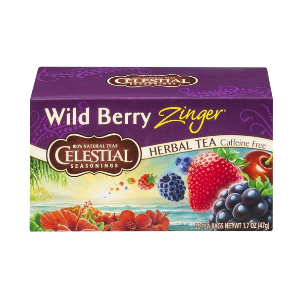 Celestial Seasonings Tea Wild Berry
