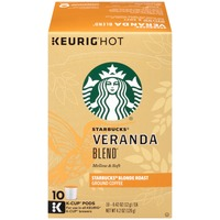 Starbucks Veranda Blend Blonde Roast K-Cup Pods