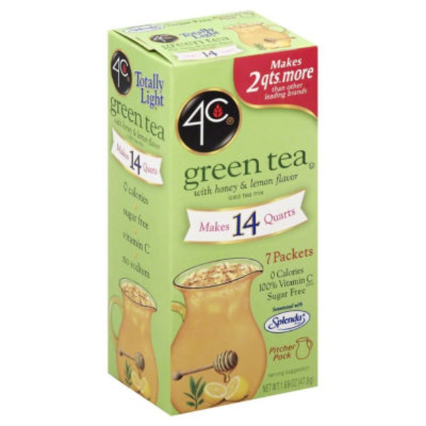 4C ITM-TL Packet-Green (Honey/Lemon) ITM-Sugar Free