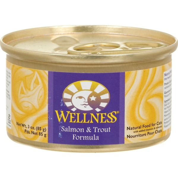 Wellness Salmon & Trout Formula Natural Food for Cats