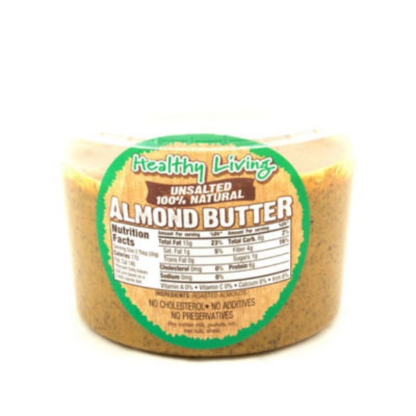 Hampton Farms Healthy Living Unsalted Almond Butter