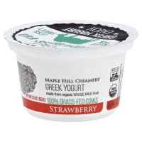 Maple Hill Creamery Yogurt Grk Strw 100%grsfd